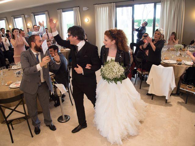 La boda de Julio y Natalia en Codorniz, Segovia 27