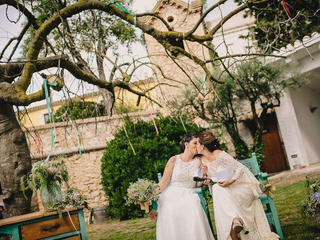 La boda de Laura y Blanca en Ordal, Barcelona 42