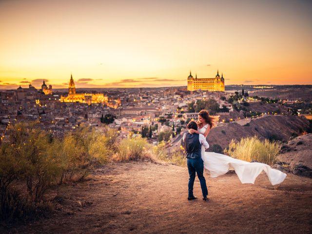 La boda de Luismi y Soraya en Maqueda, Toledo 9