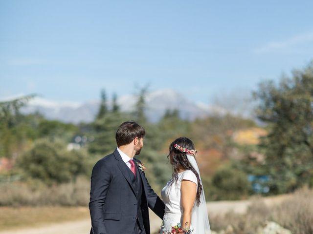 La boda de Manuel y María en Guadarrama, Madrid 19
