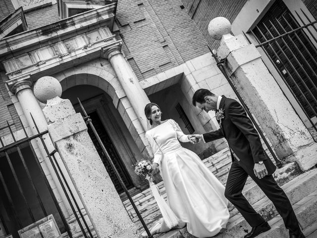 La boda de José y Celia en Aranjuez, Madrid 2