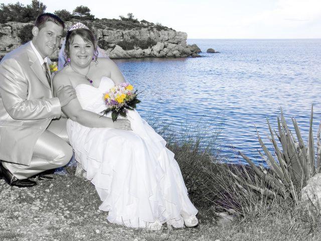 La boda de Susana y David en L' Ametlla De Mar, Tarragona 2