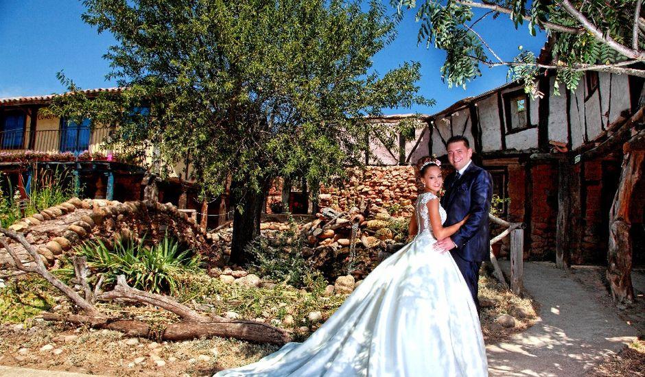 La boda de Diego y Esmeralda en Quintanilla Del Agua, Burgos