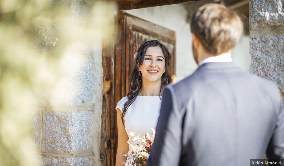 La boda de Manuel y María en Guadarrama, Madrid