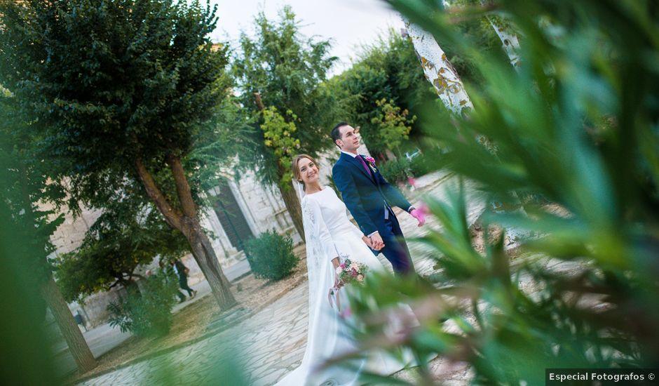 La boda de José y Celia en Aranjuez, Madrid