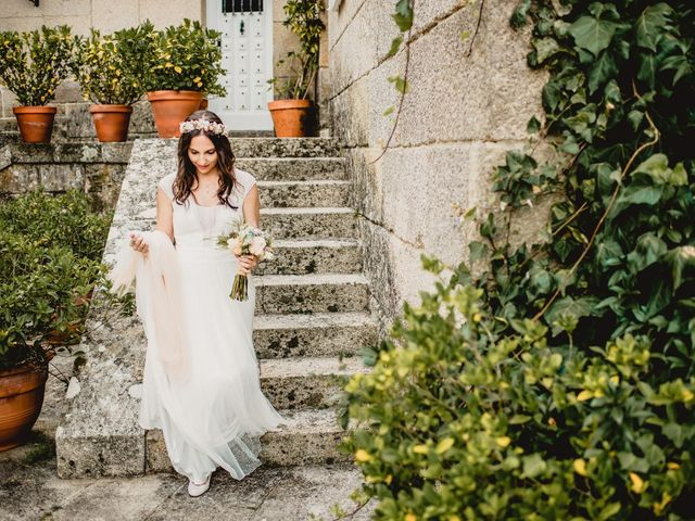 La boda de Odilo y Sonia en Bueu (Casco Urbano), Pontevedra 20