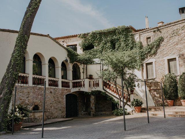 La boda de Eros y Miriam en Alella, Barcelona 1