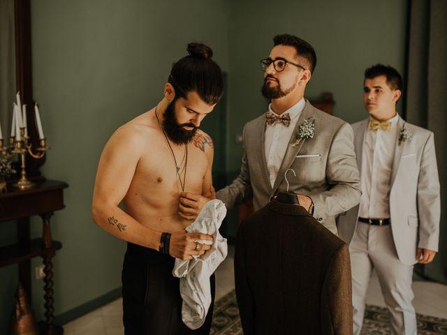 La boda de Eros y Miriam en Alella, Barcelona 3