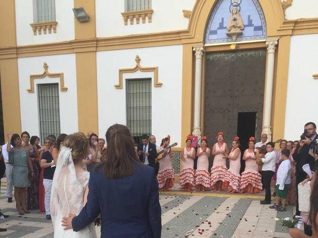 La boda de Francisco Jesús y Aurélie en Dos Hermanas, Sevilla 13