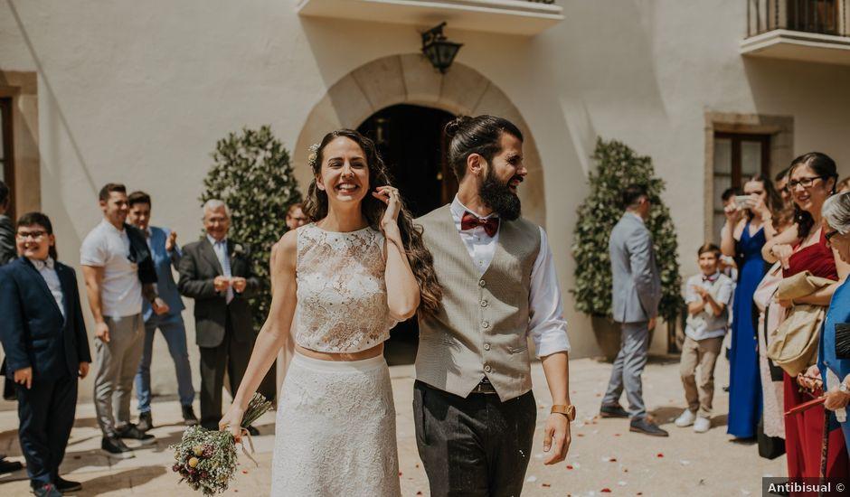 La boda de Eros y Miriam en Alella, Barcelona