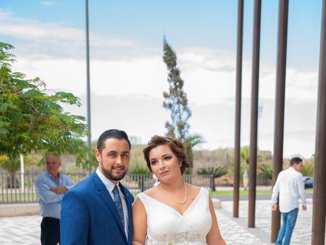 La boda de Esmeralda y David en Playa De Las Americas, Santa Cruz de Tenerife 4