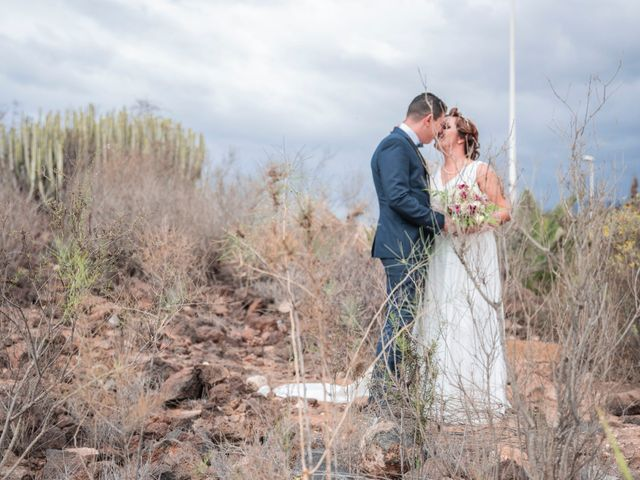 La boda de Esmeralda y David en Playa De Las Americas, Santa Cruz de Tenerife 8