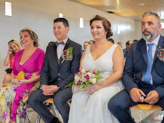 La boda de Esmeralda y David en Playa De Las Americas, Santa Cruz de Tenerife 17