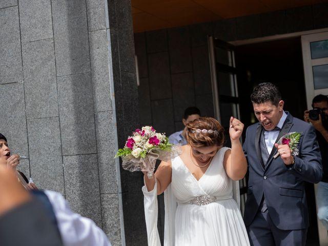 La boda de Esmeralda y David en Playa De Las Americas, Santa Cruz de Tenerife 20