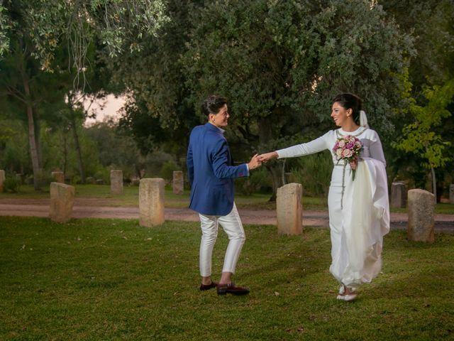 La boda de Ángela María y Rosario en Villamanrique De La Condesa, Sevilla 16