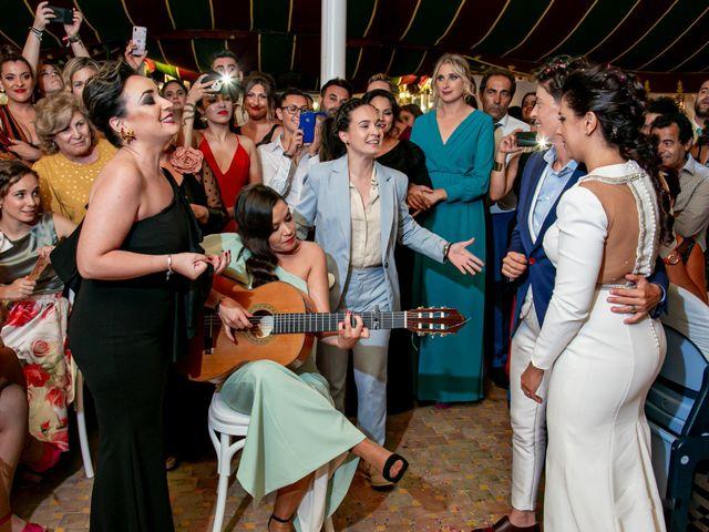La boda de Ángela María y Rosario en Villamanrique De La Condesa, Sevilla 22