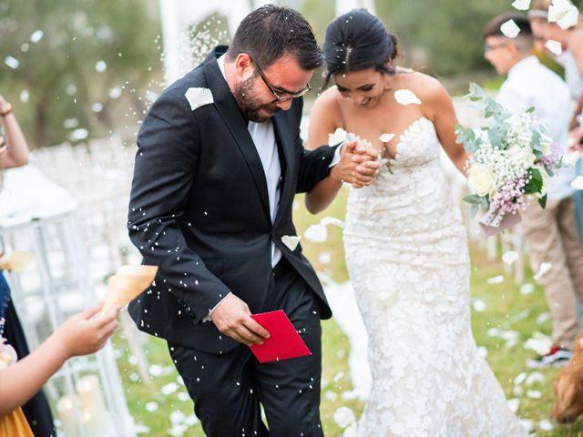 La boda de Esther y Toni