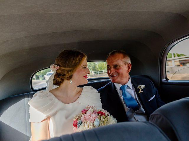 La boda de Pilar y Javier en Villarrubia De Los Ojos, Ciudad Real 27