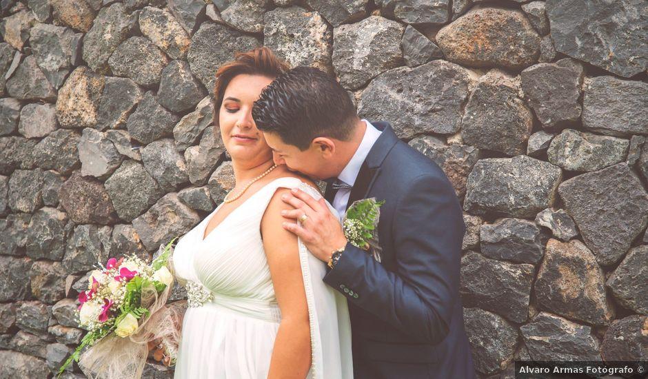 La boda de Esmeralda y David en Playa De Las Americas, Santa Cruz de Tenerife
