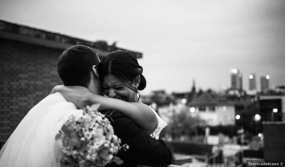 La boda de Daniel y Gabriele en Madrid, Madrid