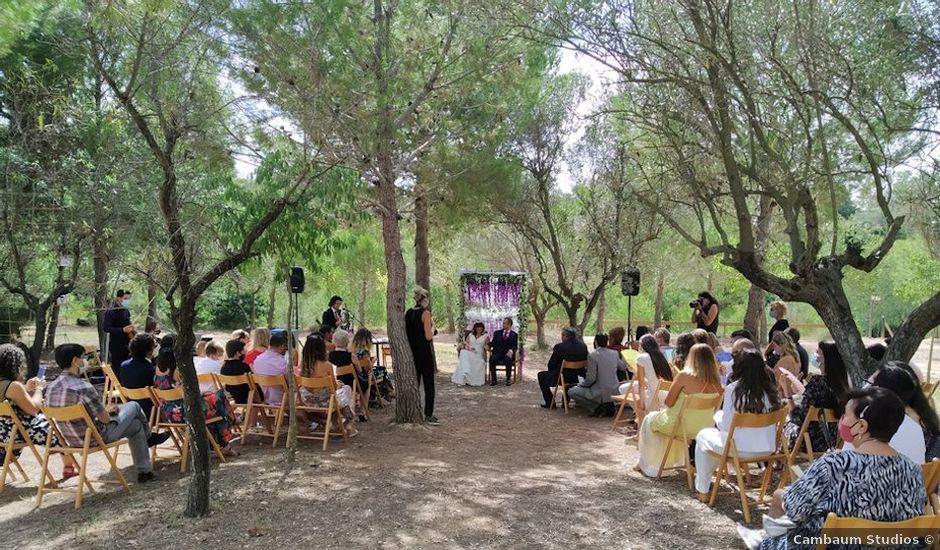 La boda de Pascal y Laura en Alborache, Valencia