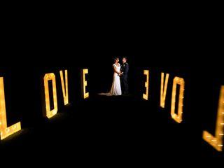 La boda de Karen y David