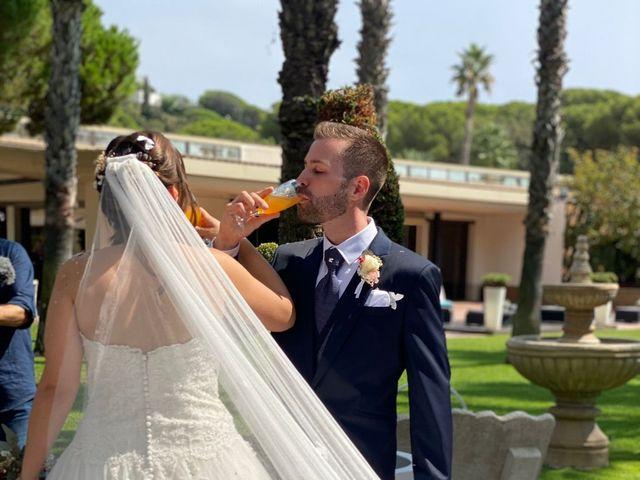 La boda de Javi y Queralt en Sant Vicenç De Montalt, Barcelona 6