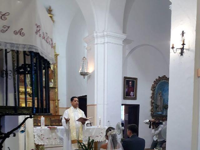 La boda de Alex y Andrea en Sanlucar Del Guadiana, Huelva 7