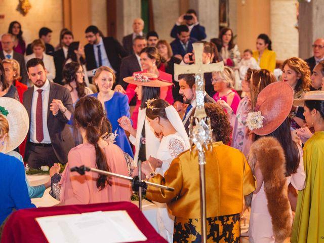 La boda de Pedro y Cristina en Pozal De Gallinas, Valladolid 36
