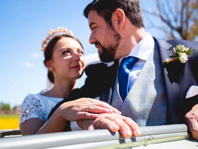 La boda de Pedro y Cristina en Pozal De Gallinas, Valladolid 54