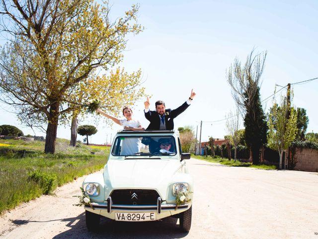 La boda de Pedro y Cristina en Pozal De Gallinas, Valladolid 55