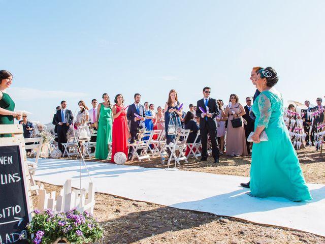 La boda de Xixo y Rocío en Almería, Almería 45
