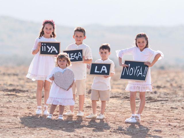 La boda de Xixo y Rocío en Almería, Almería 51