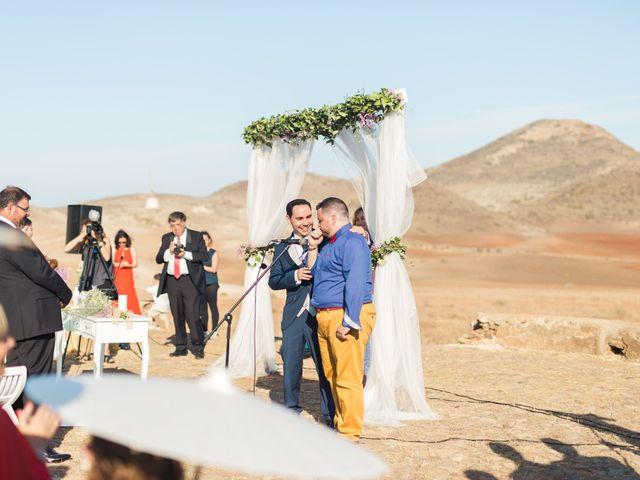 La boda de Xixo y Rocío en Almería, Almería 63