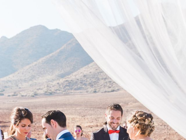 La boda de Xixo y Rocío en Almería, Almería 65