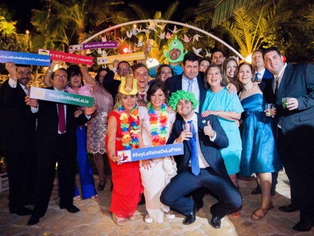 La boda de Xixo y Rocío en Almería, Almería 135