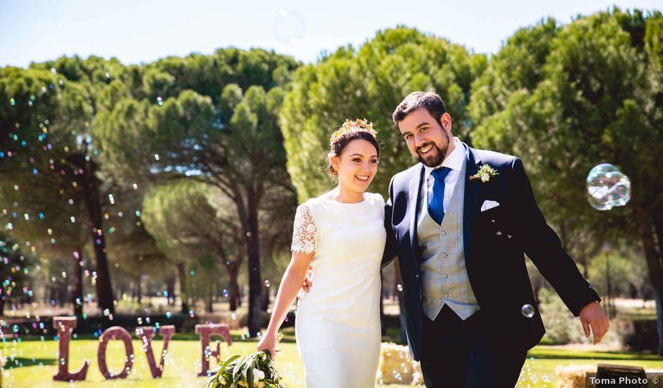 La boda de Pedro y Cristina en Pozal De Gallinas, Valladolid