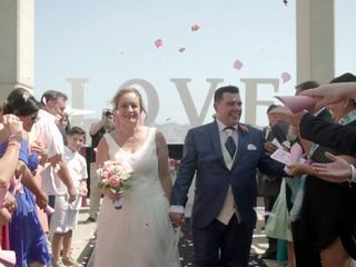 La boda de Cristina y Oscar
