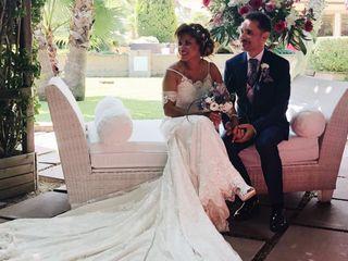 La boda de Carlos y Dennys