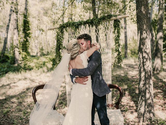 La boda de Chris y Leah