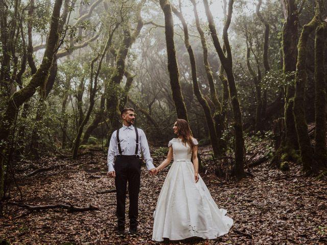 La boda de Noelia y Mika en San Cristóbal de La Laguna, Santa Cruz de Tenerife 15