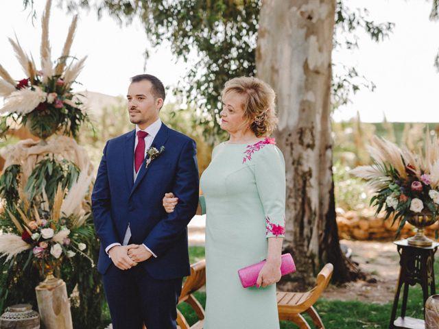 La boda de Antonio y Cristina en Almería, Almería 33