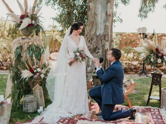 La boda de Antonio y Cristina en Almería, Almería 58