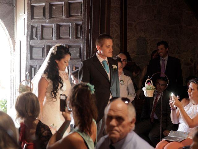 La boda de Javier  y Rocio  en Villarejo Del Valle, Ávila 11