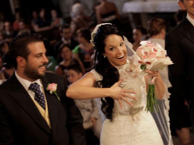 La boda de Javier  y Rocio  en Villarejo Del Valle, Ávila 13
