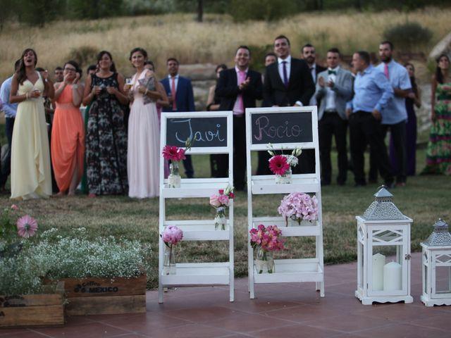 La boda de Javier  y Rocio  en Villarejo Del Valle, Ávila 36