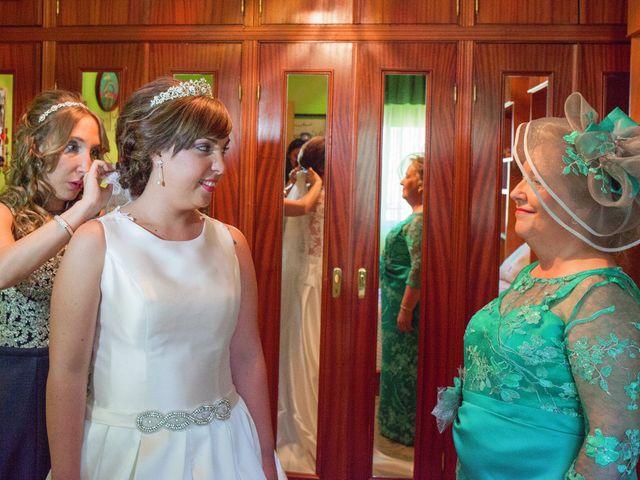 La boda de Vanesa y José María en Valdastillas, Cáceres 7