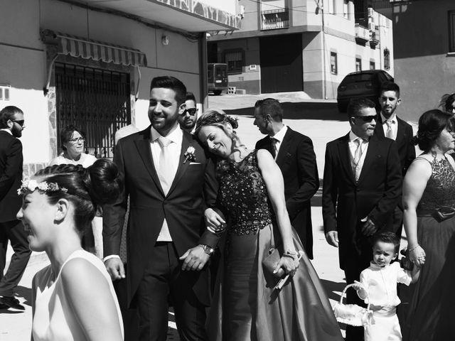 La boda de Vanesa y José María en Valdastillas, Cáceres 17