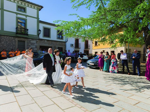 La boda de Vanesa y José María en Valdastillas, Cáceres 18