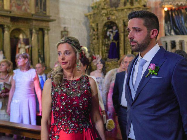 La boda de Vanesa y José María en Valdastillas, Cáceres 23